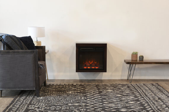 Wall-mounted Eco-friendly Electric Fireplace