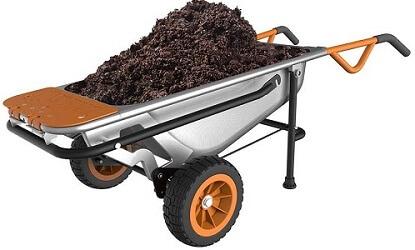 worx multifunctional wheelbarrow