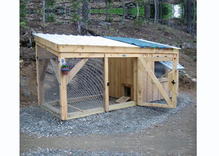 5' x 12' chicken coop