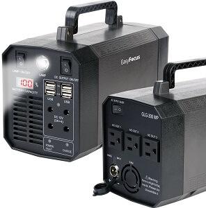 easy focus solar power generator