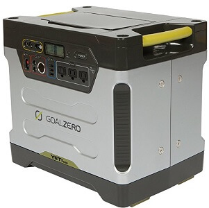 goal zero yeti solar power station