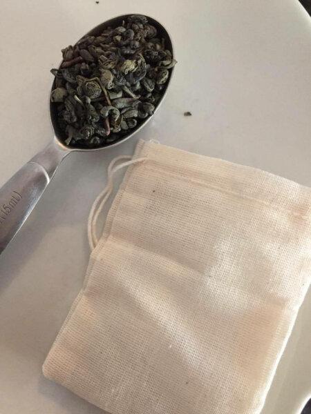 tea in spoon