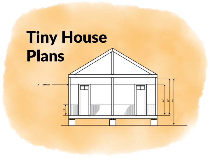 Tiny house plans insteading for Sleeping cabin plans