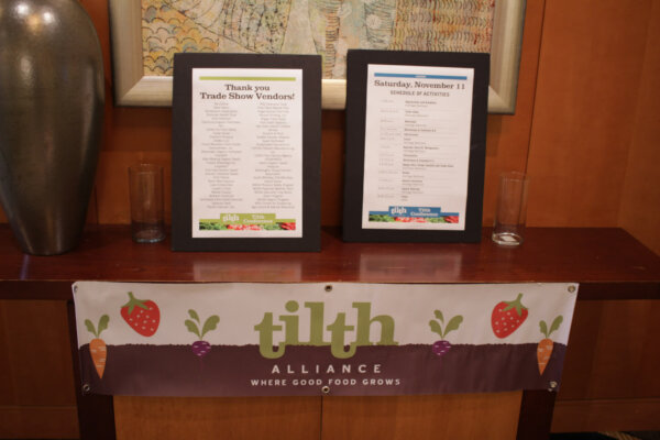 list of vendors at tilth conference