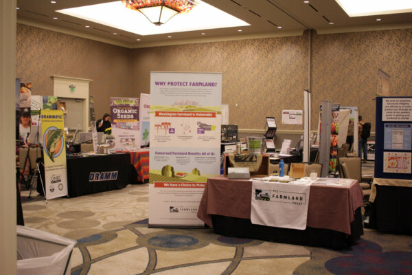 trade show at tilth conference