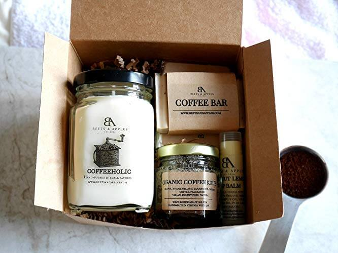 coffee lovers body care set