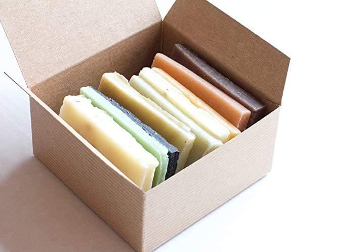soap ends sampler