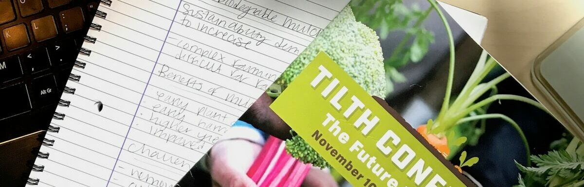 tilth conference program and notes