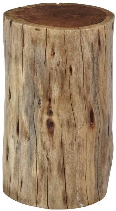 Acacia Tree Stump Table