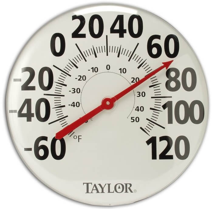 Classic Extra Large Outdoor Thermometer