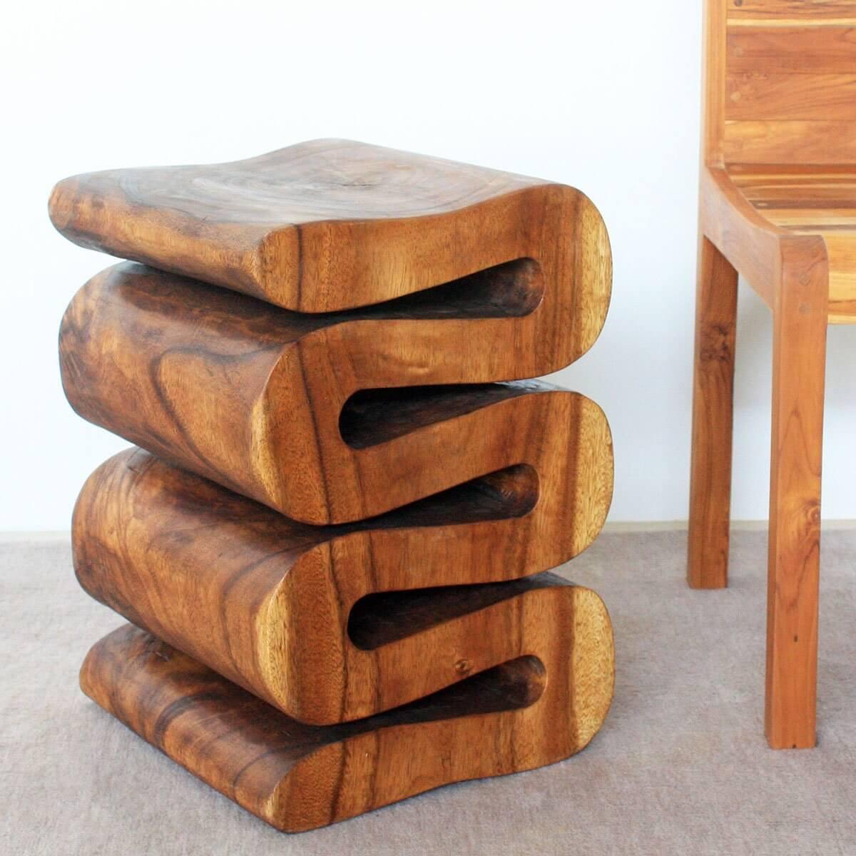 Tree Stump Swerve Twist Table