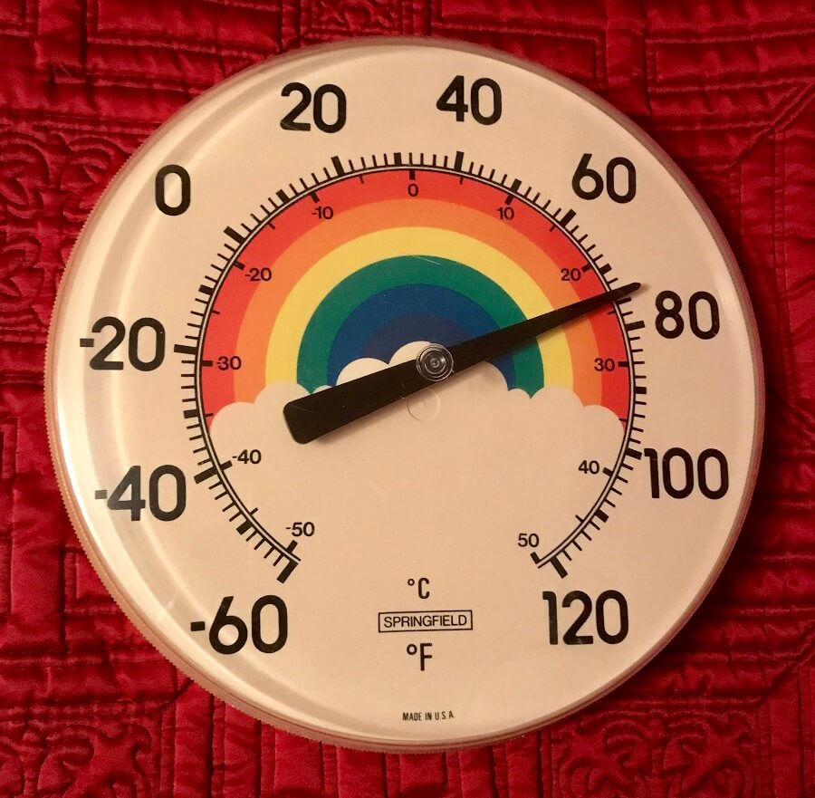 23 Charming Outdoor Thermometers • Insteading