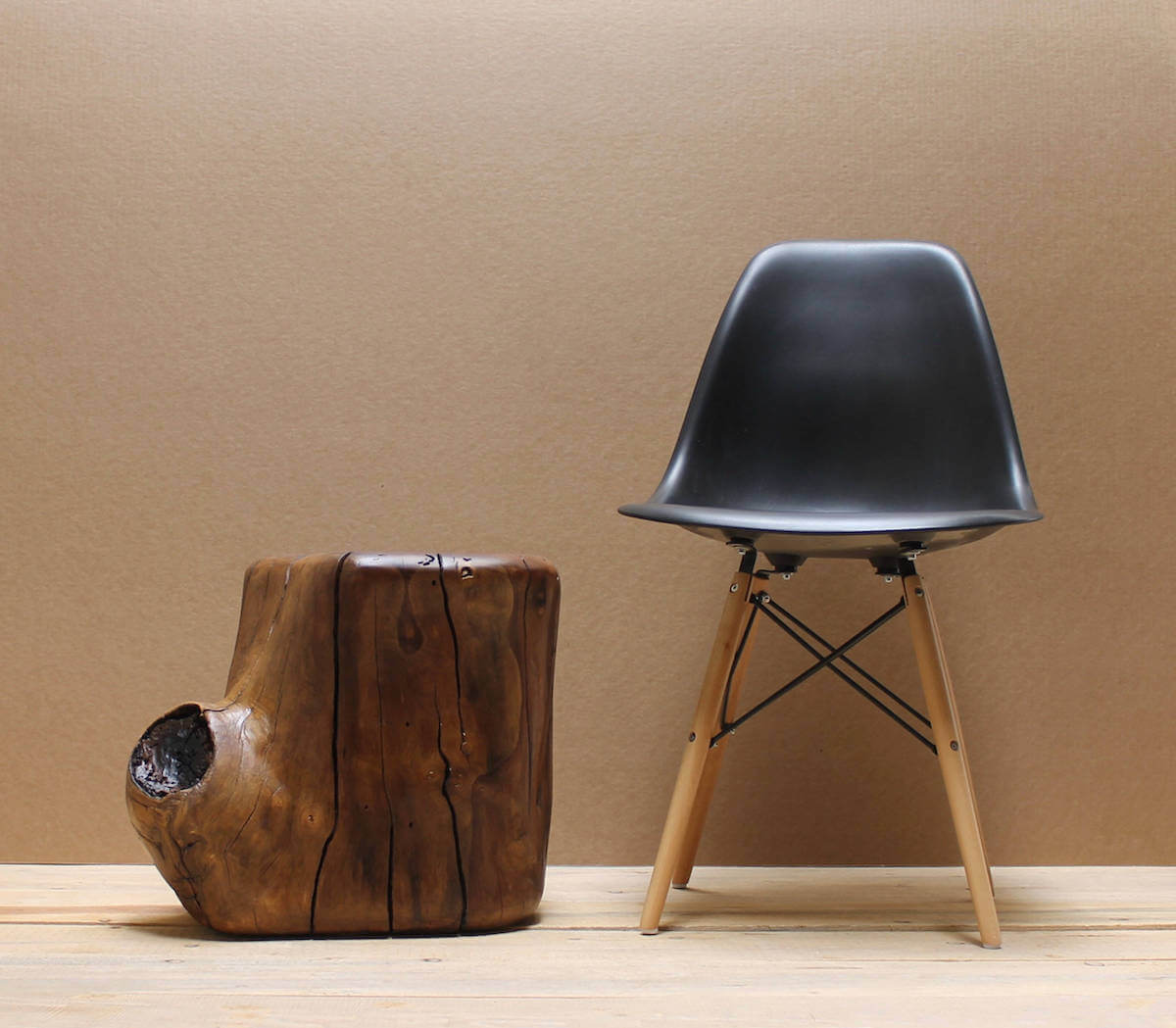 Walnut Tree Stump Table