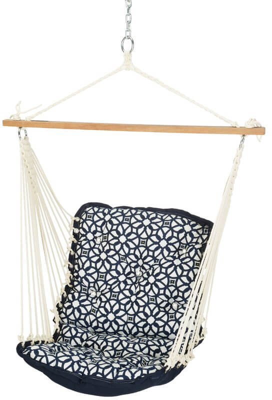 Patterned Hammock Chair