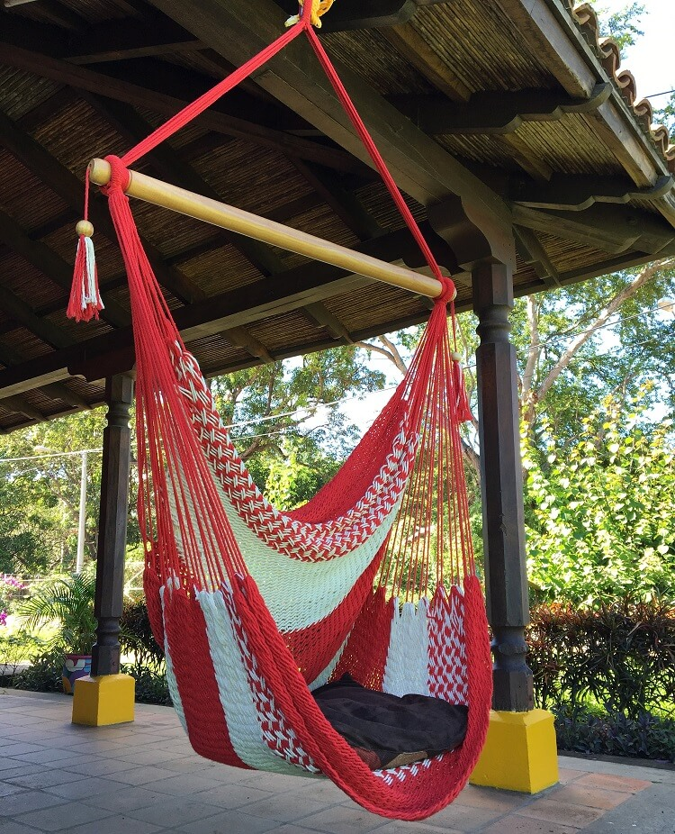Red Hammock Swing