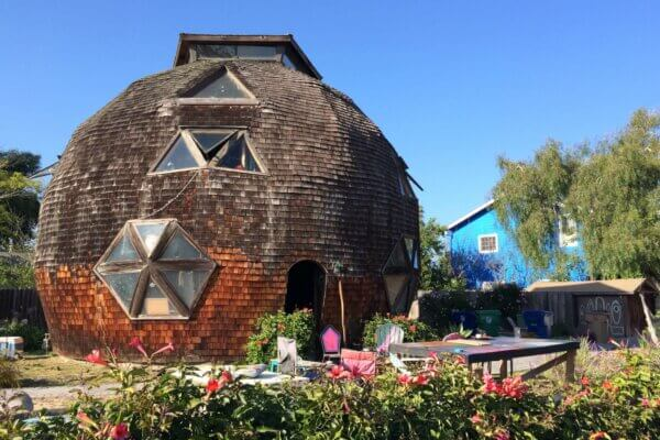 the geodesic dome house