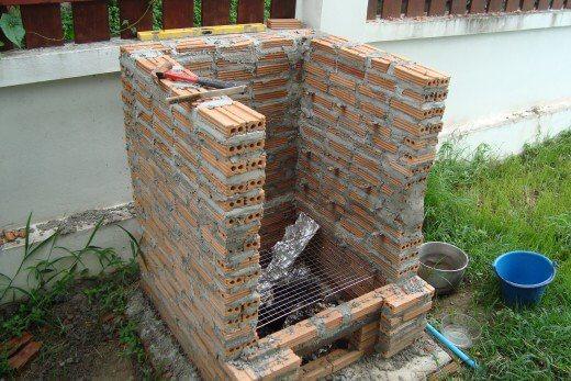 Brick Smoker