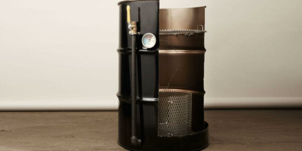 55 gallon drum diy smoker