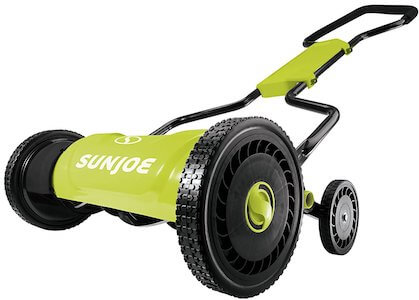 sun joe push mower
