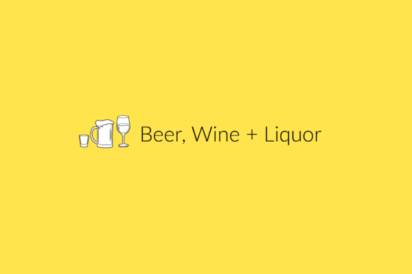 beer wine and liquor