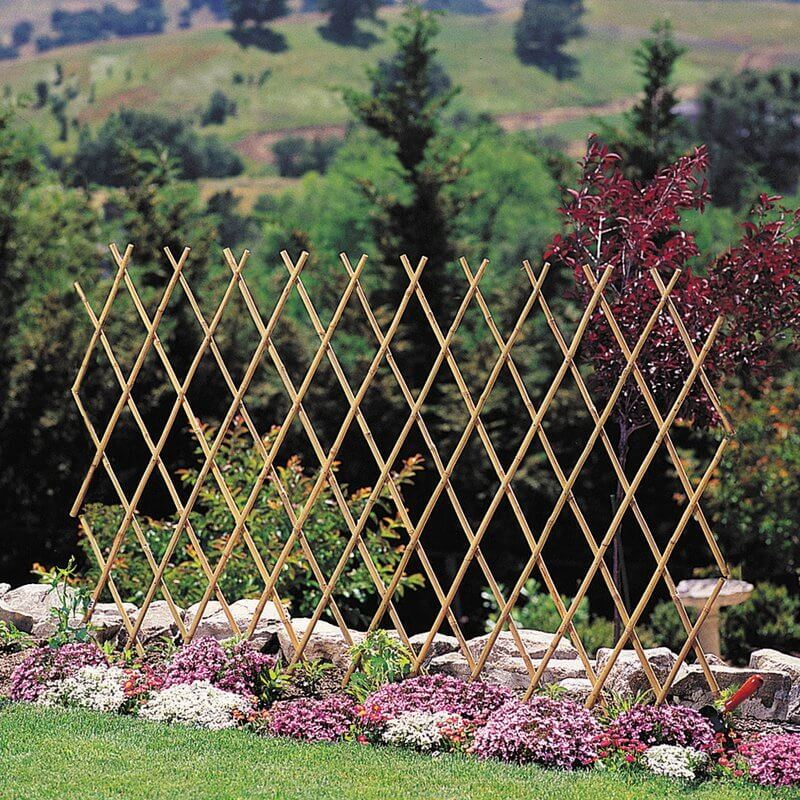 Expanding Wood Trellis