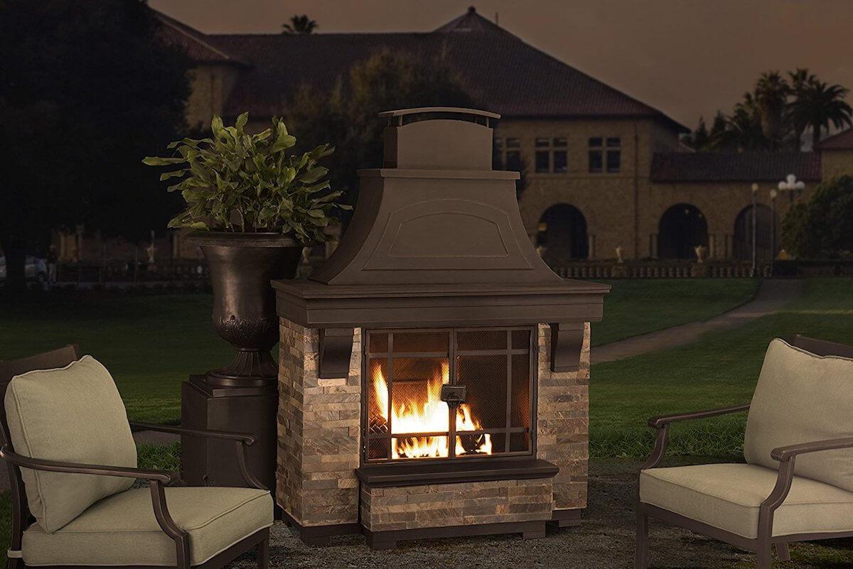 Jasper Wood Burning Fireplace