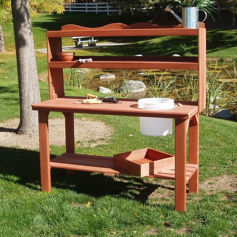 Surprising Potting Benches Insteading Ibusinesslaw Wood Chair Design Ideas Ibusinesslaworg