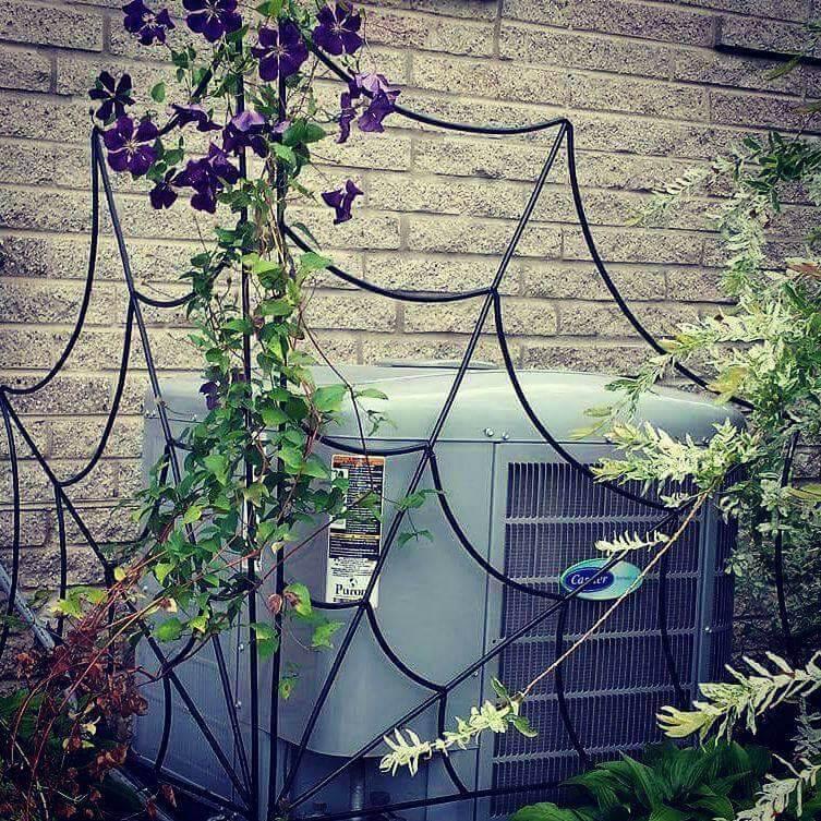 Spider Web Garden Trellis