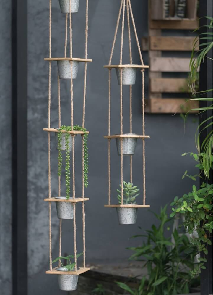Hanging Planters Perfect For Flowers And Succulents Insteading