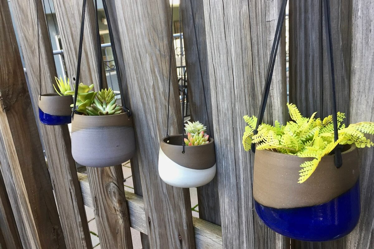 Hanging Planters Perfect For Flowers And Succulents • Insteading on kettle sea salt and malt vinegar, kettle tilt drains, kettle steaming rack for food with,