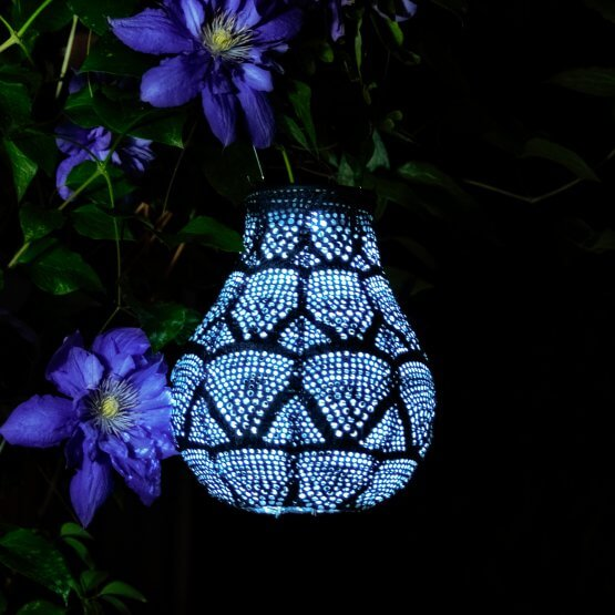Dotted Triangle Solar Lantern