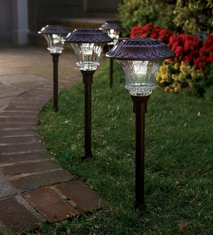 Flower Petal Inspired Solar Lights