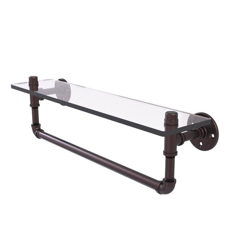 Glass Pipe Shelf