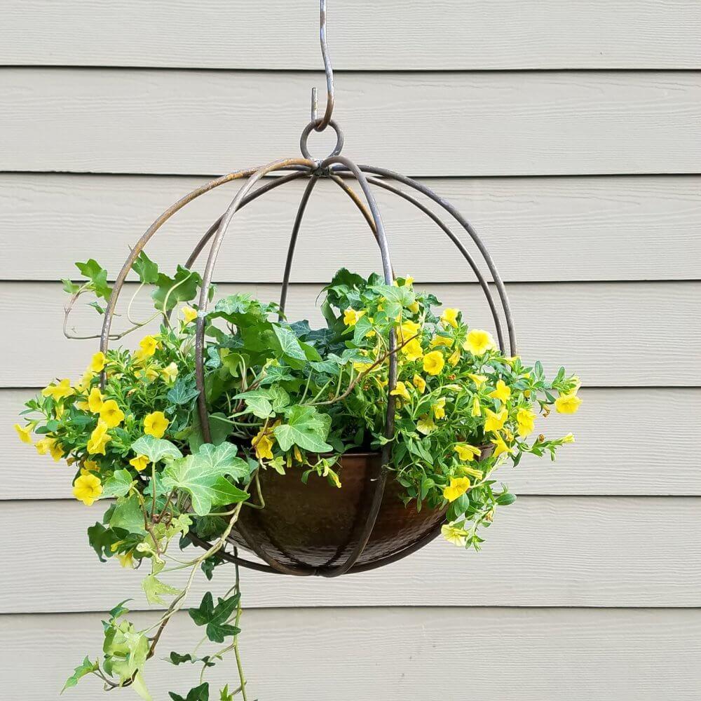 Handmade Globe Planter