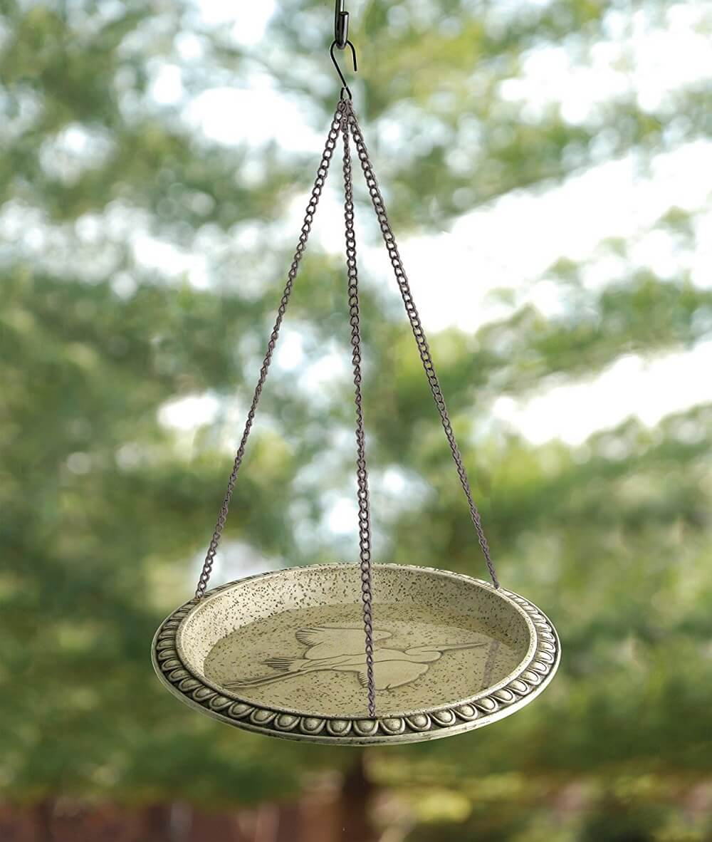Hanging Bird Bath