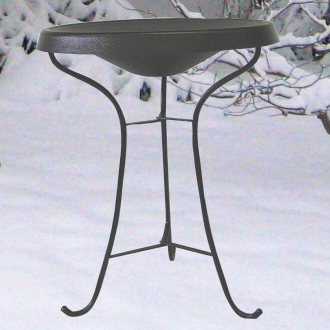 Heated Pedestal Bird Bath