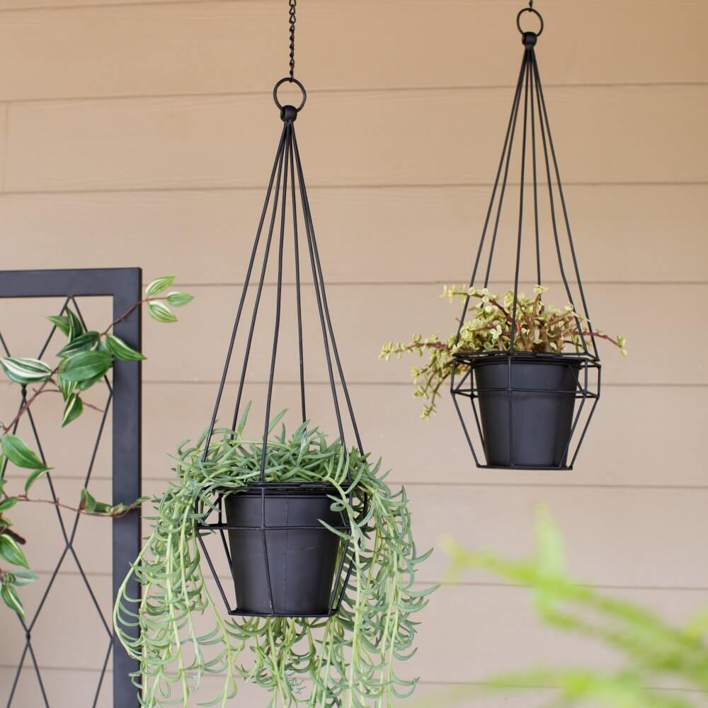Hanging Planters Perfect For Flowers And Succulents