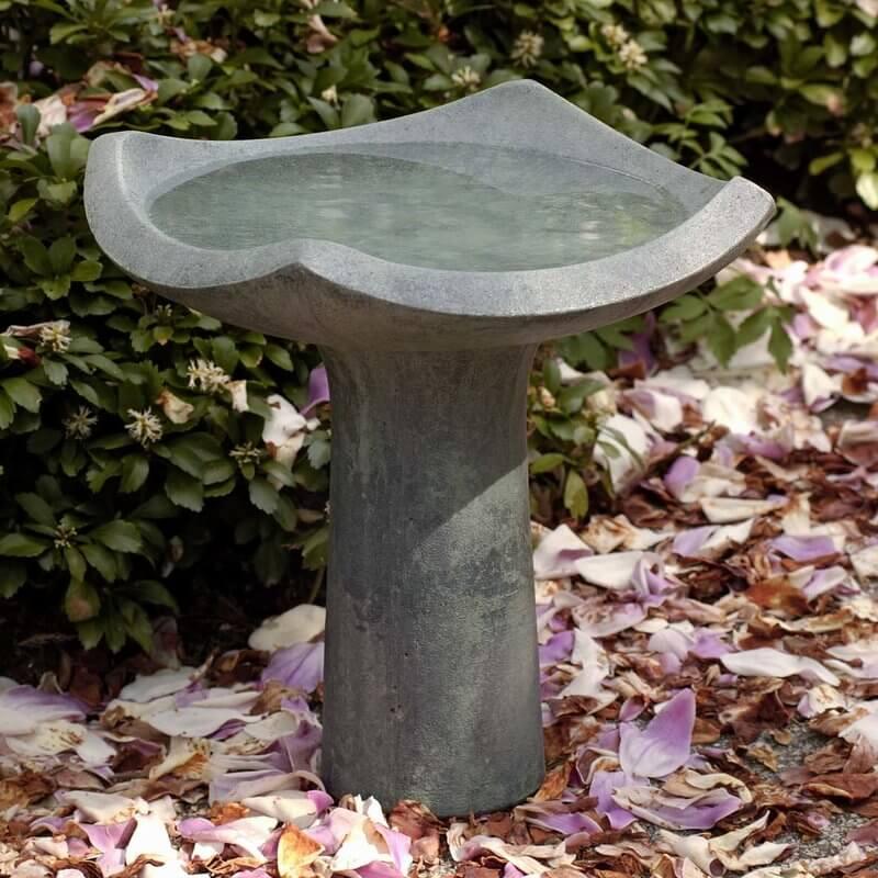 Modern Stone Bird Bath