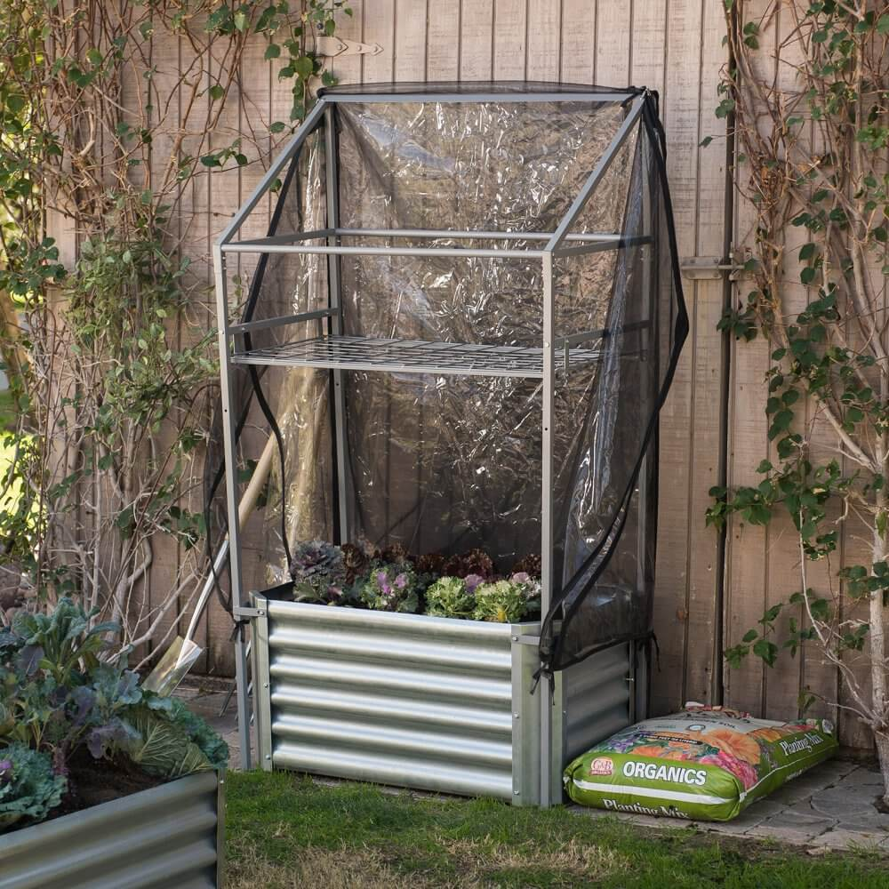 Small Corrugated Metal Greenhouse