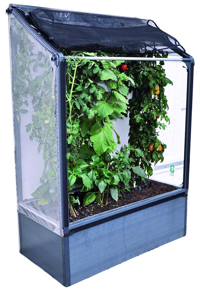 Small Lean-to Greenhouse