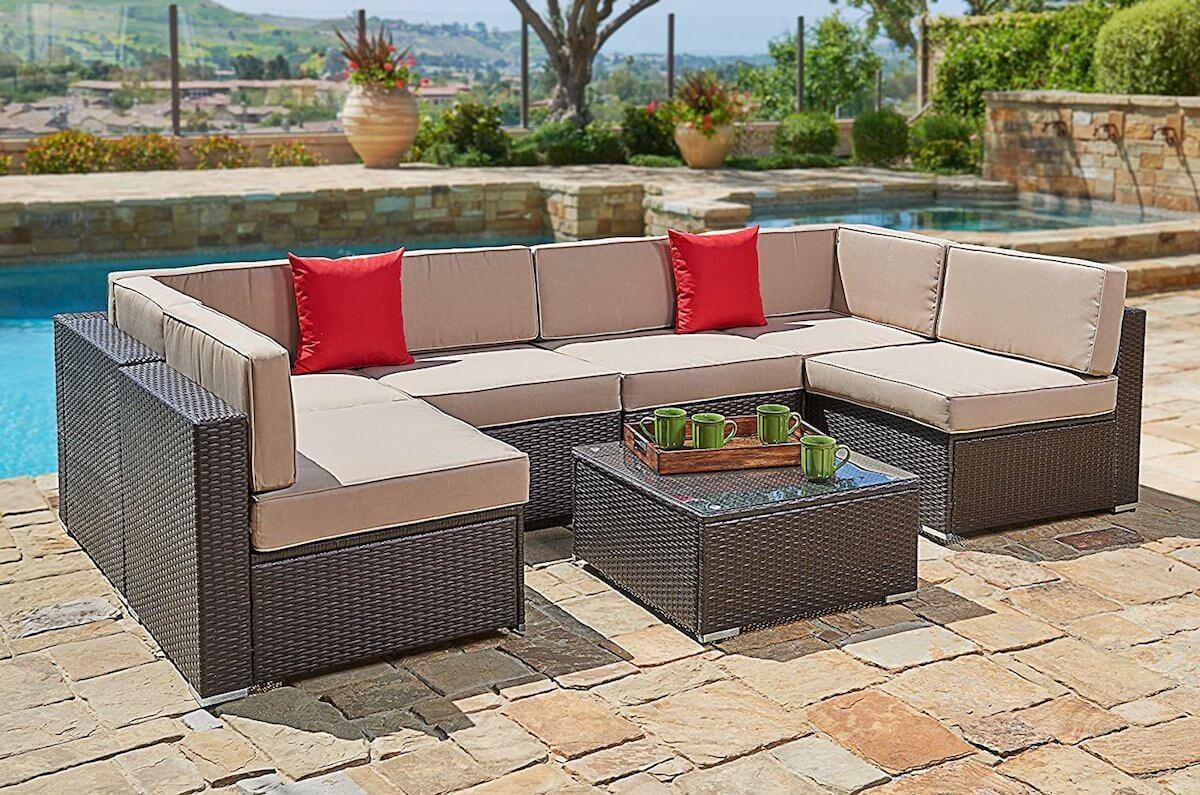7-Piece Outdoor Sofa Set