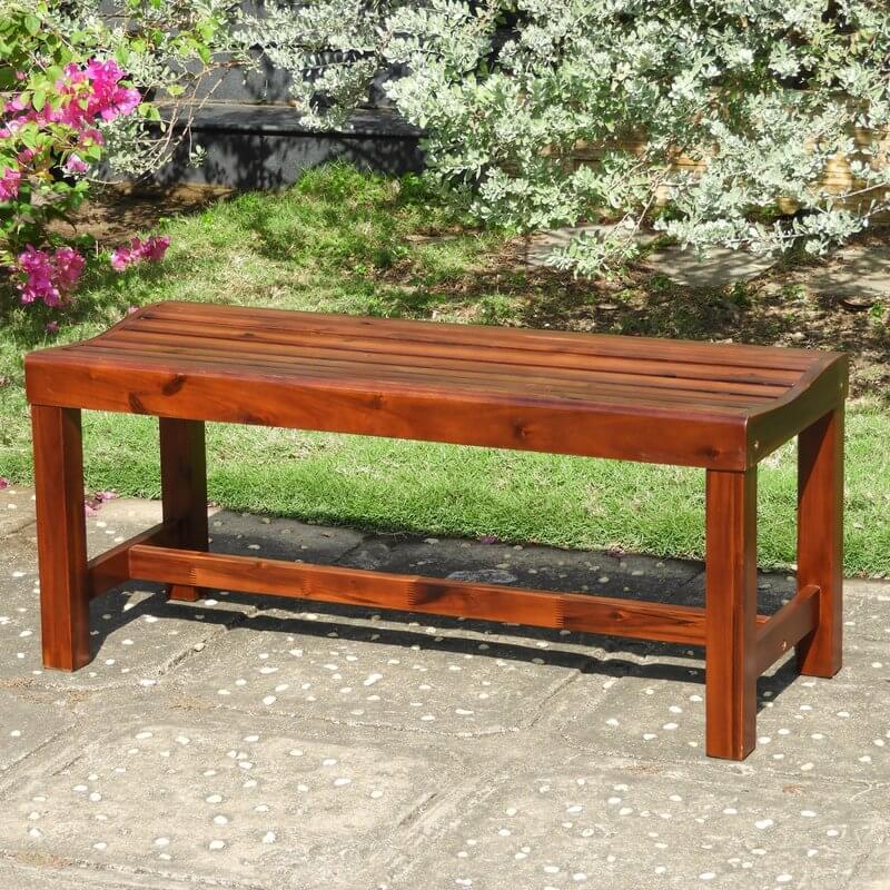 Acacia Wooden Garden Bench