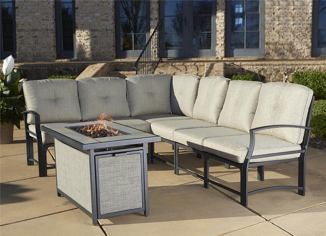 Aluminum Outdoor Sofa Sectional