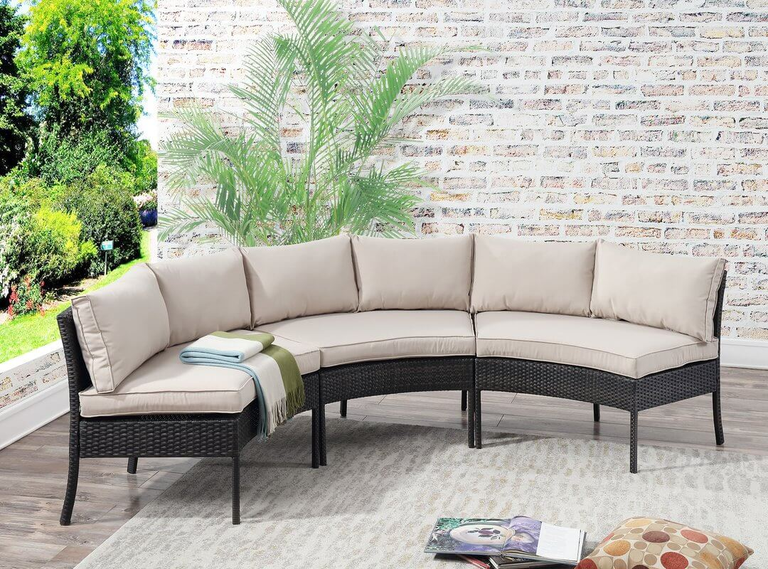 Circular Outdoor Sofa Sectional