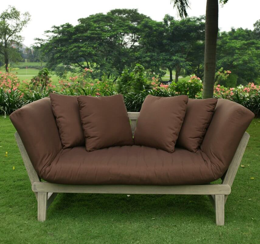 Convertible Outdoor Loveseat Sofa
