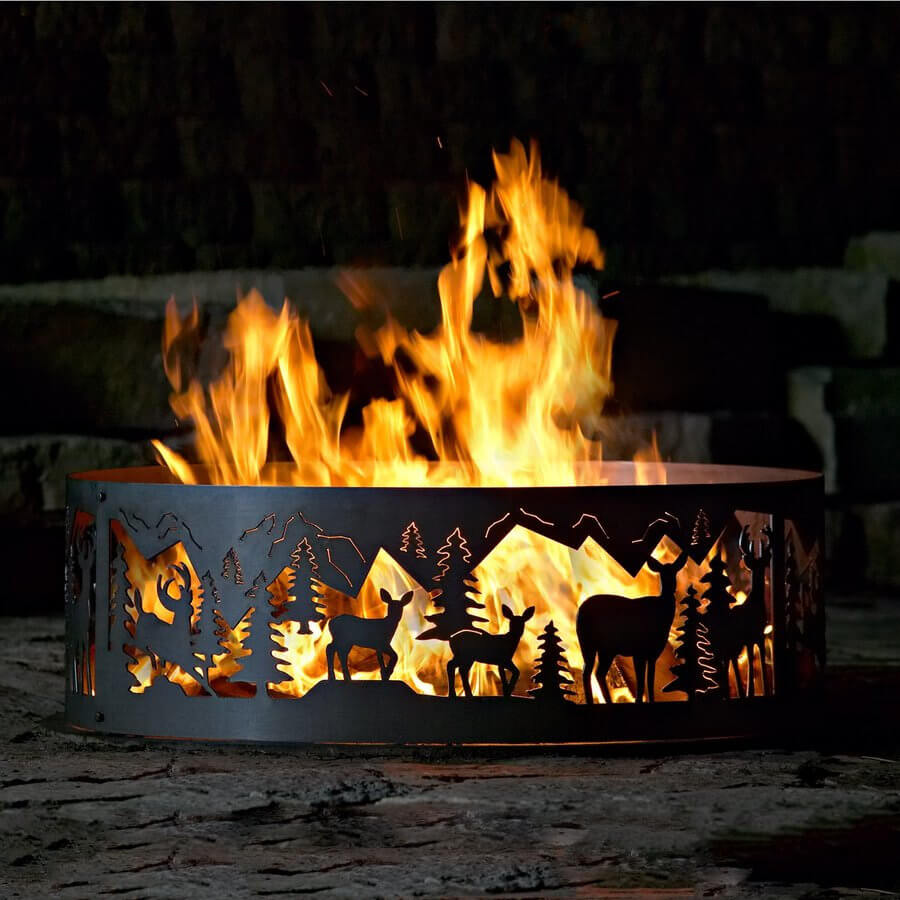 decorative fire pit