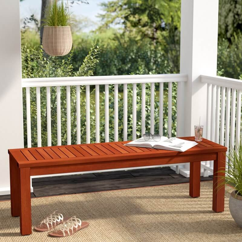 Eucalyptus Outdoor Picnic Bench
