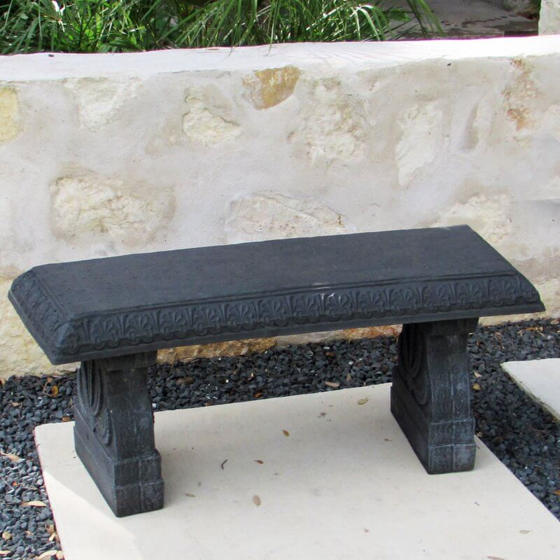 Fiber Clay Concrete Garden Bench