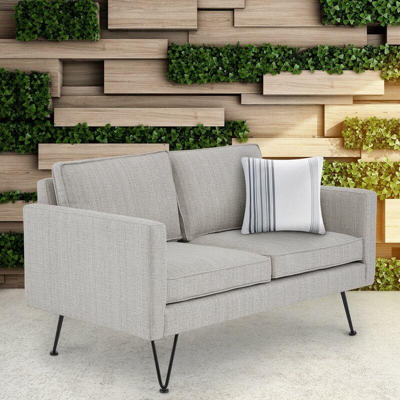 Modern Outdoor Loveseat Sofa