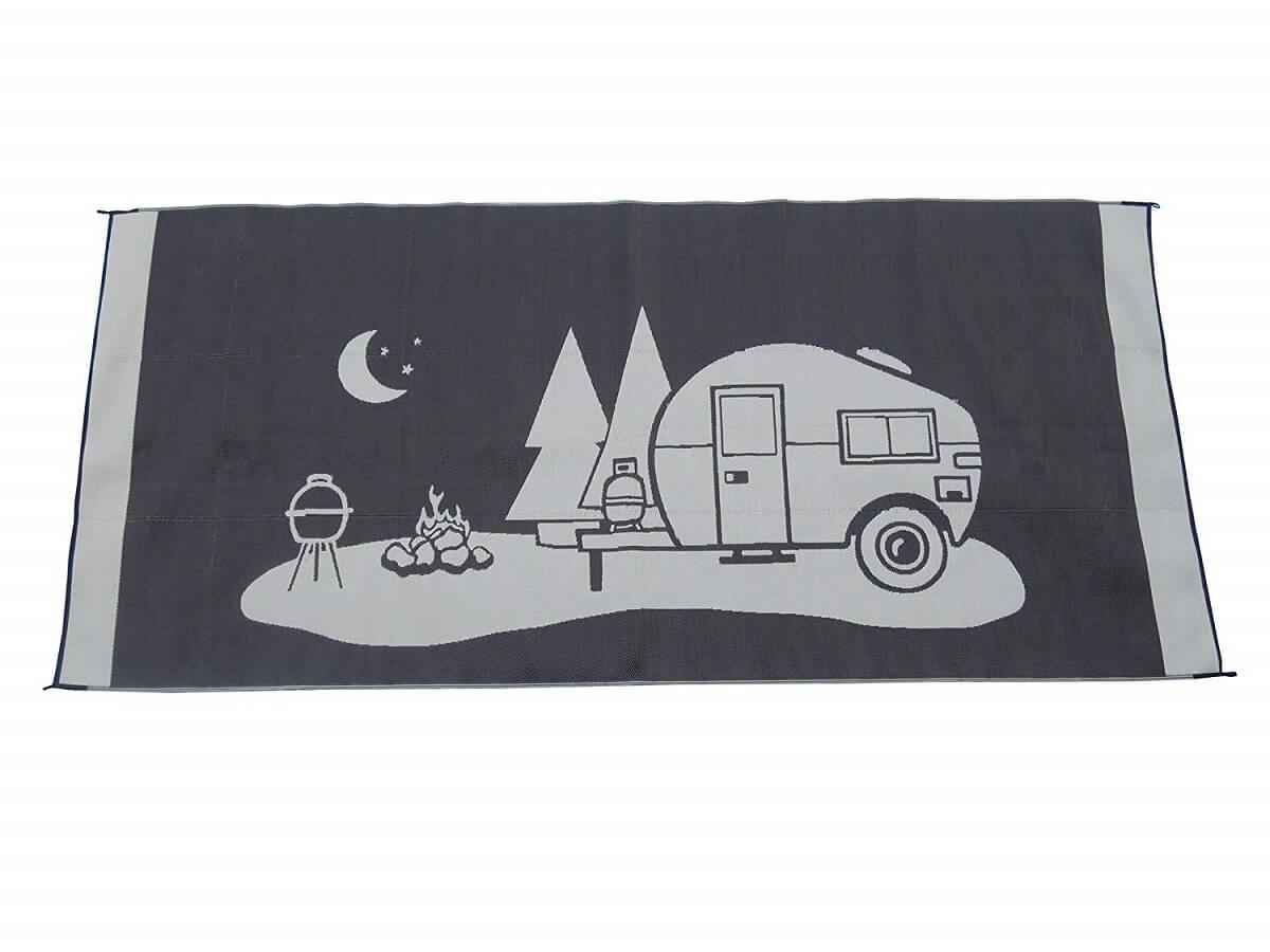 RV Themed Camping Rug